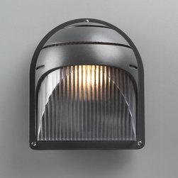 PLC Lighting - PLC 1 Light Outdoor Fixture Delphi Collection 1842/CFL BZ - -Finish: Bronze
