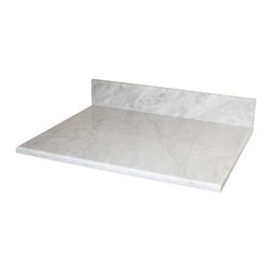 "Native Trails - Native Trails 36"" Carrara Vanity Top - *Polished lightly"