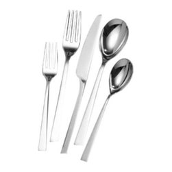 Lifetime Brands - Towle 20-Piece Luxor Flatware Set - Features: