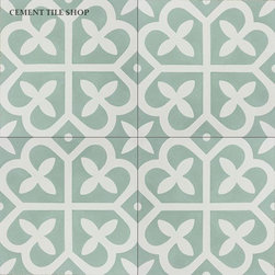 In Stock - Pacific Collection - Mahlia cement tile from the Cement Tile Shop Pacific Collection. www.cementtileshop.com