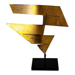 Studio Eight - Contemporary Modern Sculpture, RADIUS ORIGAMI II, by Charles Sabec, 2014. - RADIUS ORIGAMI II