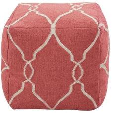 Mediterranean Floor Pillows And Poufs by Lulu & Georgia