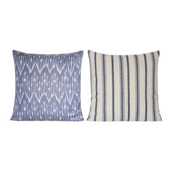 Buldan Turkish Pillow - Our set of two Buldan Turkish Pillows is a part of our Turkish cushion collection. Buldan is a town in Turkey�s Denizli province, known for Buldan cloth which was popularized as the fabric used to make sultans� clothing.