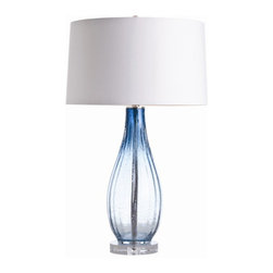 "Arteriors - Arteriors Home - Parkland Table Lamp - 17296-208 - Arteriors Home - Parkland Table Lamp - 17296-208 Features: Parkland Collection Table LampWhite ColorGlass FinishCotton liningHand crafted. UL and CUL listed. Light bulbs not included. 3-Way rotary Switch type At socket Switch location2-Prong and polarized Plug typeA - E26 and 3 way Socket typeWired for 110 - 120V150W Max wattage (per socket) Some Assembly Required. Dimensions: Overall: 19"" W X 19"" D X 32"" HShade: 19"" W X 19"" D X 16"" H"