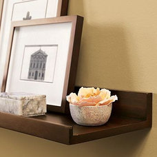 Eclectic Wall Shelves by Pottery Barn