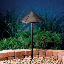 Kichler Lighting - Kichler Lighting - 15328AZT - Six Groove - One Light Path Lamp - Bulb Not Included