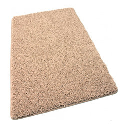 Koeckritz - Runner Frieze Shag 45 oz Area Rug Carpet Pecan Brown, Beige, 2.5'x12' - This rug is more of a frieze then it is shag. Soft and plush solution dyed 45 oz. 3/4 inch thick (pile height) polyester. Combines the best of innovation, craftsmanship and fashion. The yarn in this gorgeous rug is made of is 100% extra soft polyester, a carpet fiber that is not only incredibly soft, but exceptionally durable. The edges of these rugs are bound and finished with a matching soft, yet durable nylon fabric binding that is sewn to the edge of the rug for a very clean finish. Not to mention the speckled colors look great and would hide just about anything. Unsurpassed in quality and style without sacrificing affordability. In addition to their beauty and durability, Koeckritz area rugs are made from superior materials and the right colors to express your personal style. Koeckritz area rugs are the premium choice when it comes to color and value as they provide unique interpretations for traditional and modern interiors. Decorate the office, den, living room, dining room, kitchen or bedroom. This rug will accent and add life to any room. Due to so many custom sizes available, some rugs will require a seam. This is done on the underside of the area rug with a special seam tape. The seam will be invisible. *Please Note that size and color representation are subject to manufacturing variance and may not be exact. Also note that monitor settings may vary from computer to computer and may distort actual colors. Photos are as accurate as possible; however, colors may vary slightly in person due to flash photography and differences in monitor settings. Each rug/carpet is manufactured with the same colors as pictured.