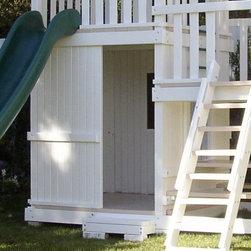 Swing Set Additions - Full Bottom Enclosure - Full Bottom Enclosure