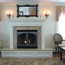 Traditional Living Room by DJ's Home Improvements