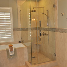 Traditional Bathroom by Addison Bruley LLC