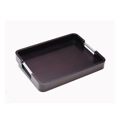 Metro Serving Tray, Coffee Bean
