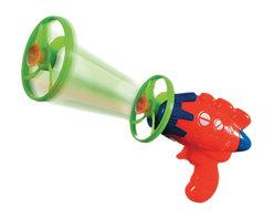 The Original Toy Company - The Original Toy Company Kids Children Play Turbo Blaster - Flying propeller toy includes- starter and 7 propellers with suctionpad. Willstickto a smoothsurface. No batteries required. Age: 5 year & up. Weight: 1 lbs. Warning: May Contain Small Parts.
