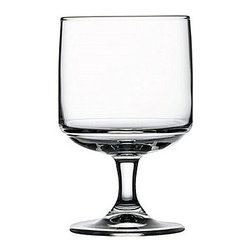 Hospitality Glass - 4.75H x 3T x 2 3/4B Tower 10 oz Stacking Beer Glasses 12 Ct - Tower 10 oz Stacking Goblet
