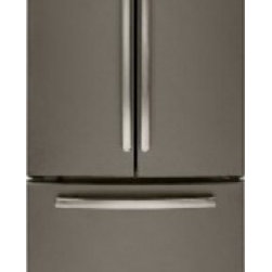 """GE - GNE22GMEES 33"""" 22.1 cu. ft. French Door Refrigerator With Factory Installed Ice - The GNE22GMEES comes with a factory installed ice maker and a internal water dispenser ensuring that you always have something to cool your drinks and something to keep you hydrated"""