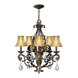 Hinkley Lighting - Hinkley Lighting 4806SU 5 Lt. Chandelier - Hinkley Lighting 4806SU 5 Lt. Chandelier