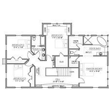 Traditional Floor Plan by Houseplans.com