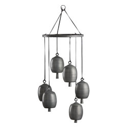 Kenzi Wind Chimes - Aside from the birds chirping, the sounds of wind chimes is my favorite thing to hear when the windows are open. I love that this set avoids the cheese factor with its rustic yet contemporary design.