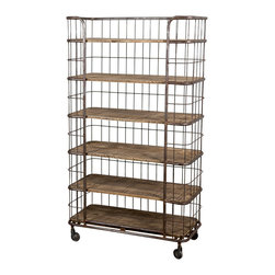 Heppner Baker's Rack - Product Features: