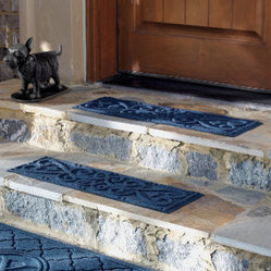 Set of Four Scroll Stair Treads - Grandin Road