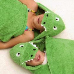 RR - Hooded Towel - Alligator - Hooded Towel - Alligator