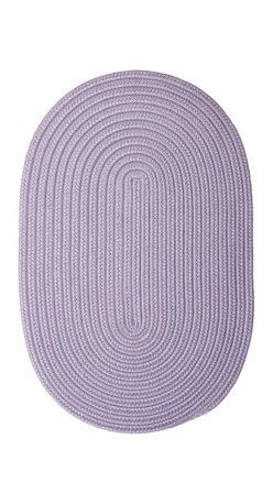 Colonial Mills - Colonial Mills Boca Raton BR23 Amethyst Rug BR23R144X180 12x15 - Just pick a coloreany colorethey are all here! This colorful outdoor rug utilizes a simple flat braid construction in an array of colors to put a fashionable stamp on your decor.