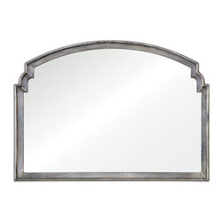 Uttermost - Uttermost Via Della Silver Mirror 12880 - Frame is lightly antiqued silver leaf.