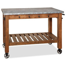 traditional kitchen islands and kitchen carts by Pottery Barn