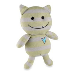 Cocalo - CoCaLo Baby Peek-A-Boo Monsters Plush Toy - Plush monster will add a fun and darling touch to your baby's nursery. This playful stuffed toy creates the perfect coordinate for the Peek-A-Boo Monsters crib bedding.