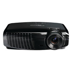 "OPTOMA DLP - OPTOMA W401 W401 Full-3D Portable Projector - � 4,500 ANSI lumens ;� Native WXGA (1280 x 800) resolution;� 15,000:1 contrast ratio;� Max lamp life: 4,500/4,000/3,000 hours (eco+/eco/normal);� Two 8W speakers;� Full 3D;� HDMI(R) v1.4a, 2 VGA inputs, VGA output, composite video input, 3 audio inputs, audio output, VESA(R) input & USB-B port;� Weight: 6.4lbs;� Dim: 3.82""H x 12.76""W x 9.21""D;� Includes remote"