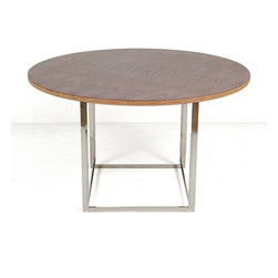 Modern Classics - Kjaerholm: PK54 Dining Table Reproduction - Features: