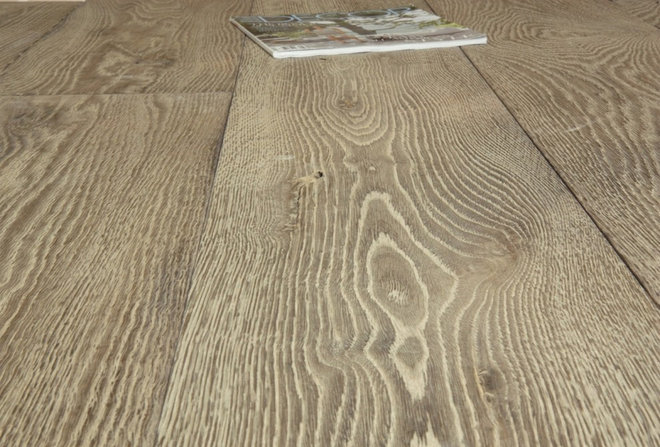 Eclectic Hardwood Flooring by Second Shout Out