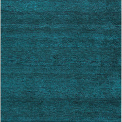 Surya - Surya Cotswald CTS-5008 (Teal) 8' x 11' Rug - The hand woven rugs of the Cotswald collection are made from a blend of wool (70%) and cotton (30%). This blend yields a strong rug that is exceptionally soft. The variety of colors and the subtle striped patterns makes for a classically styled rug with updated tones,