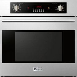 "Verona - VEBIEM241SS 24"" Electric 110 Volts Wall Oven With X Oven Capacity  8 Cooking Fun - Multi Function Convection Wall Oven with easy to use controls digital read-out and 8 cooking functions Oven will pre-heat to 350 in as little as 15 minutes This wall oven requires a dedicated 110 Volt 20 Amp electrical services which can easily be pr..."