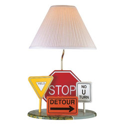 Joshua Marshal - Multi Colored Children Kids Table Lamp From The Kids Collection - Finish: Multi Colored
