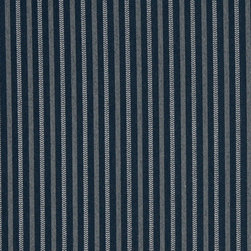 Navy Blue Striped Heavy Duty Crypton Fabric By The Yard - P5467 is a woven crypton fabric. This material is breathable, stain, bacteria, moisture and abrasion resistant. Stains like blood and urine are easily removable with water and mild soap.
