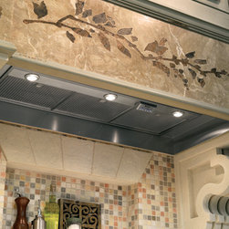 "GE Monogram - GE Monogram® 48"" Custom Hood Insert - Monogram custom hood inserts install easily inside almost any decorative canopy."