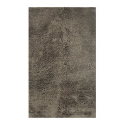 Mitchell Gold + Bob Williams - Powershag in Gargoyle 8x10 Rug - Deep and super soft, this shag rug features a long densely packed pile. Hand-woven of viscose, it has a soft sheen and plush touch.