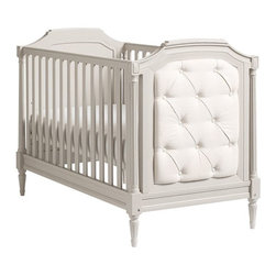 Blythe Crib, Vintage Gray - What a gorgeous bed of luxury!