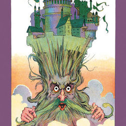 Buyenlarge - Oz on Ruggedos Head 20x30 poster - Series: Wizard of Oz