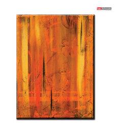 Layered - Original painting by artist Daniel Bec