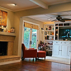 Traditional Family Room by J. Grant Design Studio