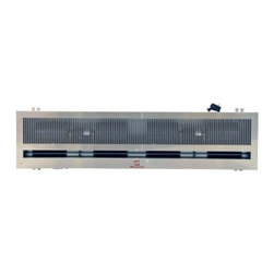 "Maxwell - MAST060-N1 60"" Commercial Industrial Ceiling Air Curtain with Efficient Dust and - The entire casing made of galvanized steel will never distort and will retain its great appearance throughout use Operated by the touch of a button it has high and low speed switch functions Double sided water inflow points allow convertibility for i..."