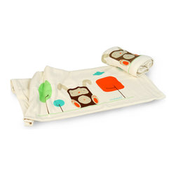 Mezoome Designs - Mezoome Organic Wabbit Baby Blanket - The Mezoome two-layered baby blanket is made from 100% organic cotton and eco-friendly dyes.