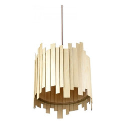 ParrotUncle - Irregularity Wooden Drum Modern Pendant Lighting - Irregularity Wooden Drum Modern Pendant Lighting