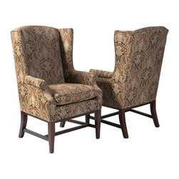 SOLD OUT!  Martha Stewart for Hendredon Wing Chairs - $2,700 Est. Retail - $499 -