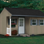 Fifthroom - Porch Nook Shed with Dura-Temp Siding -