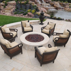 Traditional Patio by Gib-San Pools Ltd.