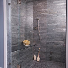 Modern Bathroom by Connecticut Stone