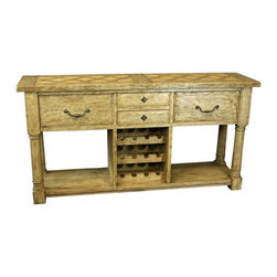 EuroLux Home - New French Pyrenees Server/Sideboard - Product Details