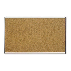 Quartet - Quartet 30 x 18 in. Cork Cubicle Bulletin Board Multicolor - QRTARCB3018 - Shop for Bulletin Boards from Hayneedle.com! Ideal for school or office corridors the Quartet 30 x 18 in. Cork Cubicle Bulletin Board can be used to pin-up important announcements. Its self-healing cork surface covers the pinholes and also prevents crumbling or fading of the board. This board is suitable for most fabric panel wall systems. Either on a cubicle wall or a dry wall its flexible mounting system makes it easy to install. An aluminum arc frame makes it durable and also gives it a contemporary appearance.About United StationersDedicated to making life in the office more organized efficient and easier United Stationers offers a wide variety of storage and organizational solutions for any business setting. With premium products specifically designed with the modern office in mind we're certain you will find the solution you are looking for.From rolling file carts to stationary wall files every product in the United Stations line is designed with one simple goal: to improve office efficiency. In turn you will find increased productivity happier more organized employees and an office setting that simply runs better with the ultimate goal of increasing bottom line profits.